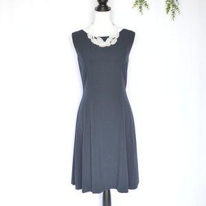 NWT Tahari Navy Knee Length Dress Size 14